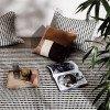 Ferm Living Ripple Karaf Set - Transparant & Gerookt