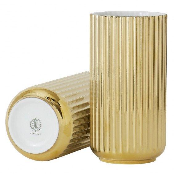 Lyngby Porcelæn Lyngby Vaas Gold