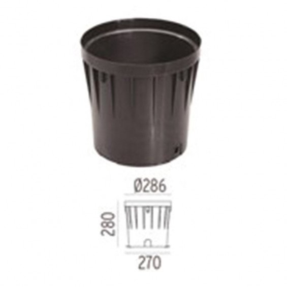 FLOS Inbouwbehuizing A-Round 315 Outdoor Vloerlamp