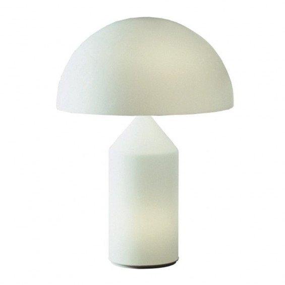 Oluce Atollo Glass Tafellamp