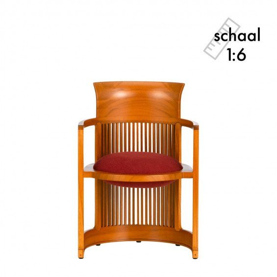 Barrel Chair Miniatuur