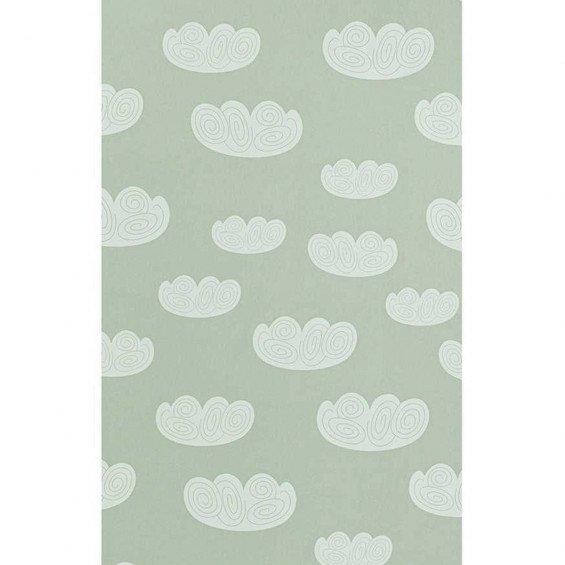 Ferm Living Behang Cloud Mint