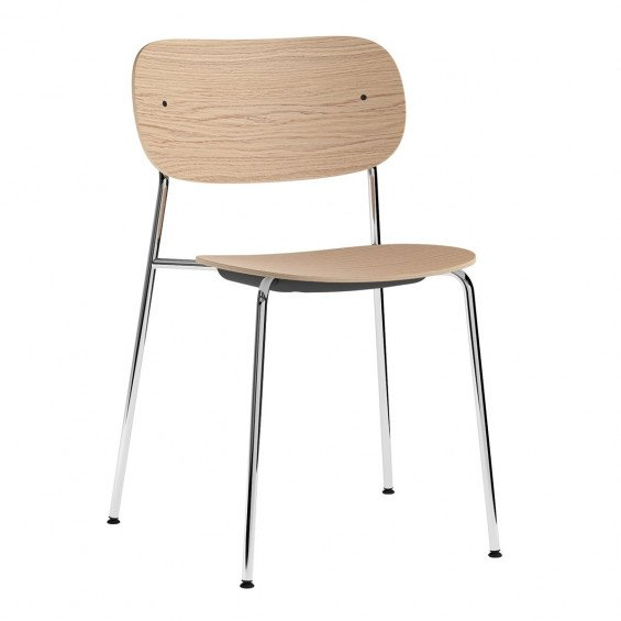 Menu Co Chair Stoel Chromen Onderstel