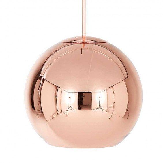 Tom Dixon Copper Round Ø45 Hanglamp