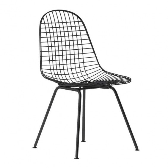 Vitra DKX Wire Chair Stoel Zwart