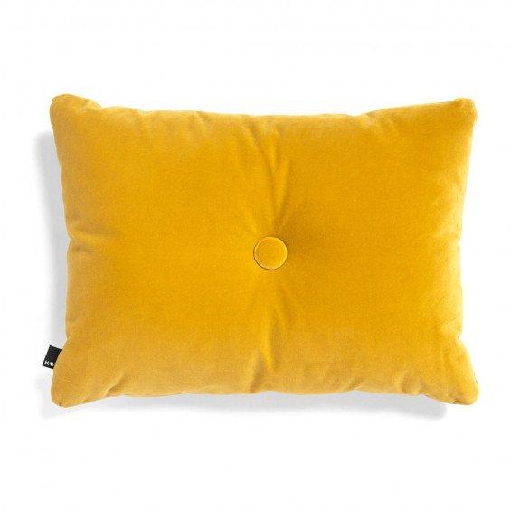 HAY Dot Cushion 1 Knoop Velours Kussen