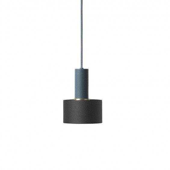 Ferm Living Collect Disc Zwart Low Hanglamp