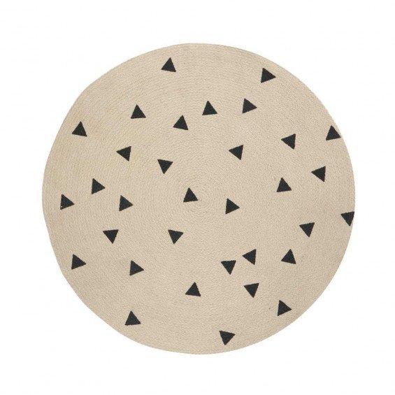 Round Carpet Triangle Vloerkleed - Ferm Living