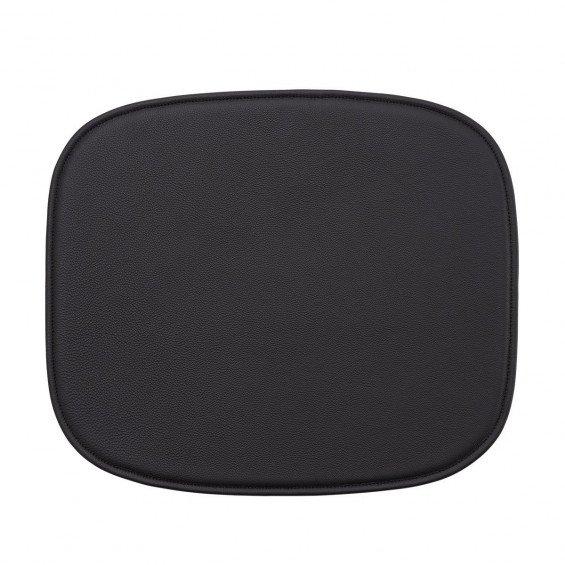 Muuto Fiber Fauteuil Zitkussen Easy Leather - Zwart