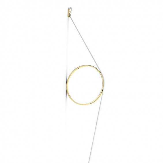 FLOS WireRing Wandlamp Wit