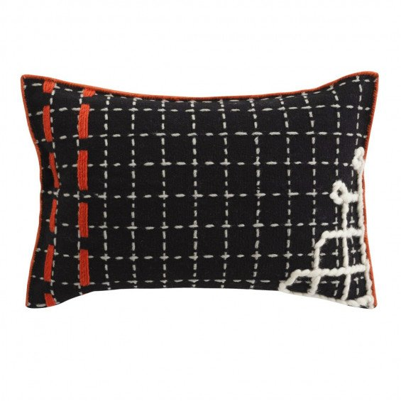 Cushion Bandas Kussen, D Black