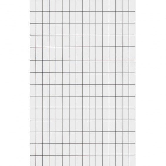 Ferm Living Behang Grid Zwart / Wit