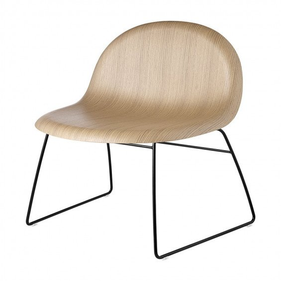 Gubi 3D Loungestoel Slede