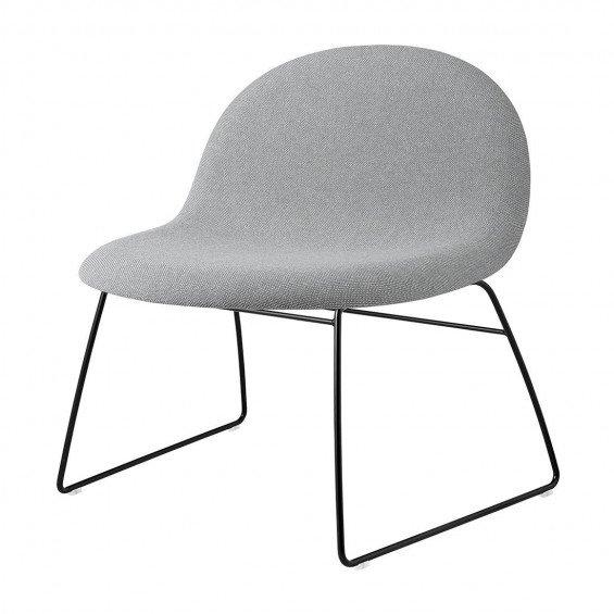 Gubi 3D Loungestoel Slede Gestoffeerd