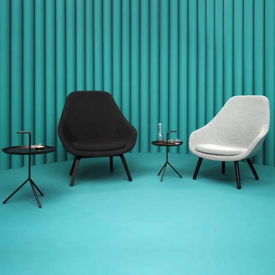 About A Lounge Chair High Aal91 Fauteuil Hay Misterdesign