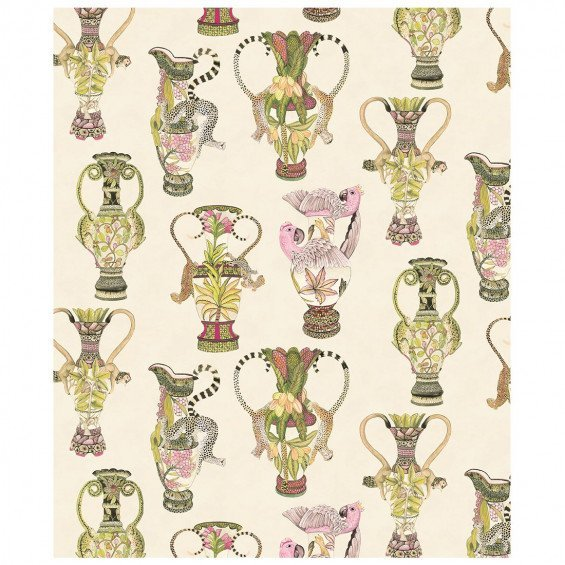 Cole & Son Ardmore Khulu Vases Behang