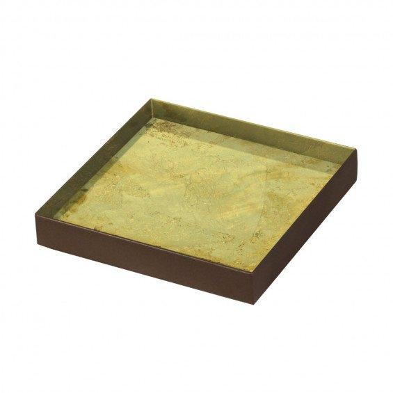 Ethnicraft Gold Leaf Dienblad