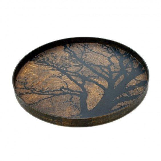 Ethnicraft Black Tree Dienblad