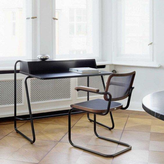 Thonet S1200 Bureau & S64 Stoel Thuiswerkplek set