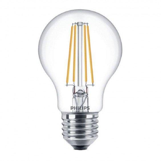Philips LED E27 A67 8W 827 Helder Dimbaar - Vervangt 60W