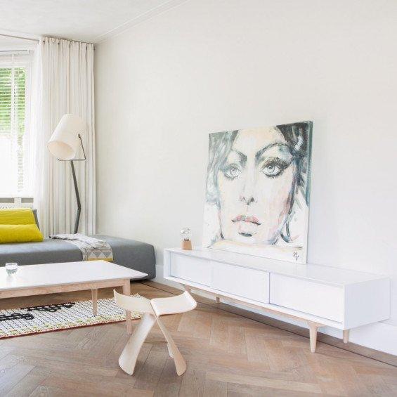 Tv Kast Wit Retro.Retro Nordic Tv Meubel Ruijch Misterdesign