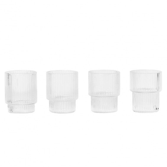 Ferm Living Ripple Small Glas