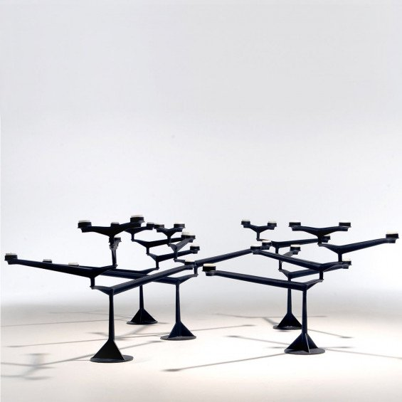 Spin tafel kandelaar tom dixon misterdesign - Tafel treku ...