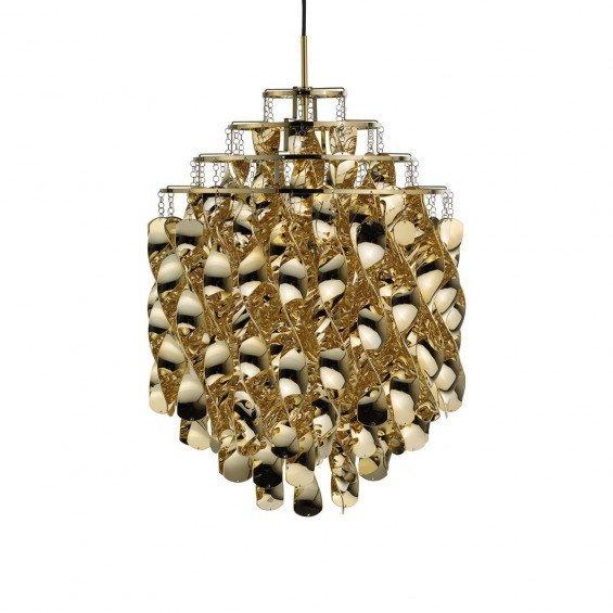 Verpan Spiral Gold Hanglamp