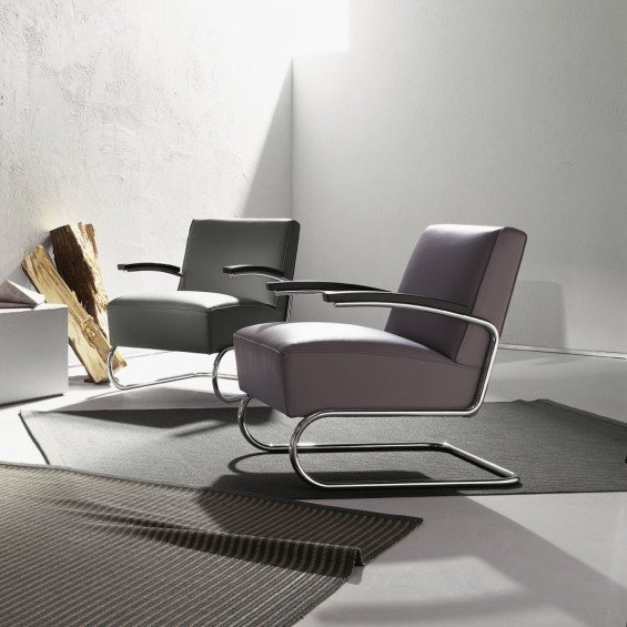 thonet s 411 fauteuil misterdesign. Black Bedroom Furniture Sets. Home Design Ideas