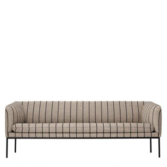 Ferm Living Turn Sofa 3-zits Bank Wolmix
