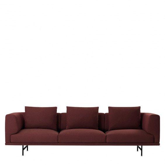 Vipp 610 Loft Sofa - 3,5-zits met Chaise Longue - Remix 133