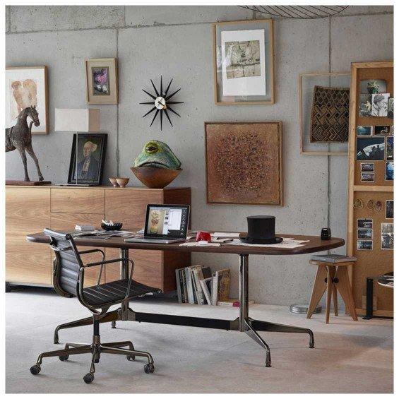 Eames Ea 117 Bureaustoel.Vitra Aluminium Chair Ea 117 Bureaustoel Misterdesign
