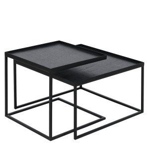 Square Tray Salontafel Set