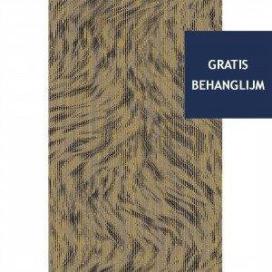 Blushing Sloth Behang Sepia