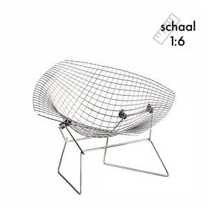 Diamond Chair Miniatuur
