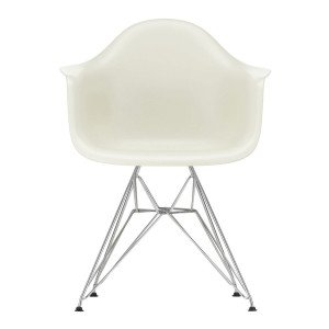 Eames Plastic Chair DAR Chroom Onderstel