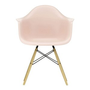 Eames Plastic Chair DAW Esdoorn Gelig