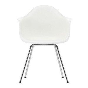 Eames Plastic Chair DAX Chroom Onderstel
