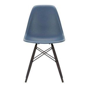 Eames Plastic Chair DSW Stoel Esdoorn Zwart