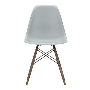 Eames Plastic Chair DSW Stoel Esdoorn Donker