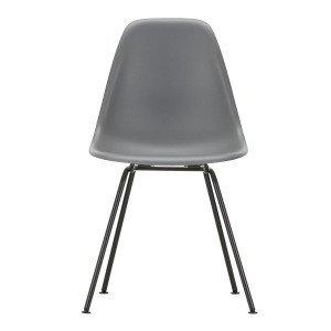Eames Plastic Chair DSX Zwart Onderstel