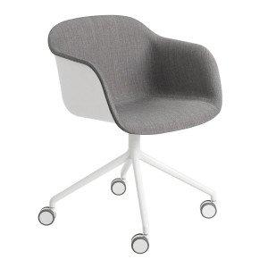 Fiber Armchair Bureaustoel, Niet Verstelbaar