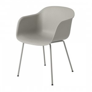Fiber Chair, stalen poten