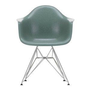 Eames Fiberglass Chair DAR Chroom