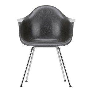 Eames Fiberglass Chair DAX Chroom