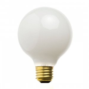 LED E27 Globe Lichtbron 6W Opaal
