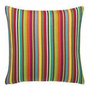 Maharam Millerstripe Multicolored Bright Sierkussen