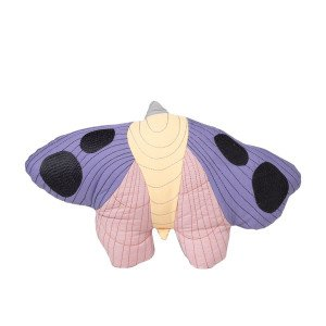 Moth Quilted Kussen