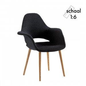 Organic Armchair Stoel Miniatuur