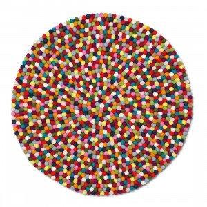 Pinocchio Karpet Multi Colour Bolletjeskleed